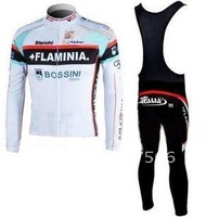 2011 FLAMINIA New High Quality Best Selling Winter Fleece/Thermal Cycling Jerseys+ Bib Pant Set/Cycle Wear/Biking Jersey/Bike
