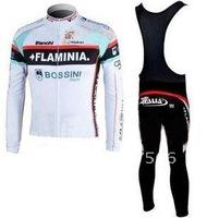 2011 FLAMINIA New High Quality Best Selling Winter Fleece/Thermal Cycling Jerseys+ Bib Pant Set/Cycle Wear/Biking Jersey/Bike