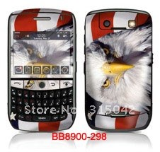 10pcs/design blackberry sticker, accept mix design, accept OEM, color skin for blackberry phones(China (Mainland))