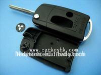 Mitsubishi flip modified remote key shell& key cover&key blanks, car key