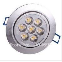 Free shipping  5pcs 21W led ceiling lamps, 7x3W high power led ceiling light energy saving lighting