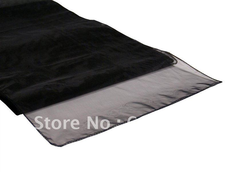 Black Table Runner Table Runner 100pcs Black