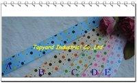 Wholesale 16 mm Dot Rib Ribbon Free Shipping