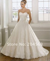 Free Shipping best selling New Sweetheart Wedding Dresses any size/color