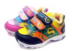 Hot sale kids sports shoes sneakers children athletic shoes running shoes kids warm shoes(China (Mainland))