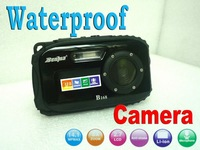 "waterproof digital camera,2.7"" TFT screen,10m underwater 14 mega 8x zoom digital camera"