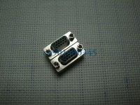 Free Shipping 15 Pin HD SVGA VGA Female-Female Gender Changer Adapter