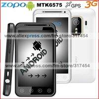"Мобильный телефон ZOPO Latest Phone ZP500 MTK6575 Android 4.0 512MB+4GB 4.0""FWVGA Capacitance Screen 3G Smartphone Film HKpost"