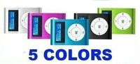 5 colors! New mini mp3 player with screen and 4GB card, supprt 8gb SD(TF) card
