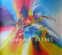 High-quality 100% pure hand-painted decorative home furnishing fashion abstract painting free mailing fees