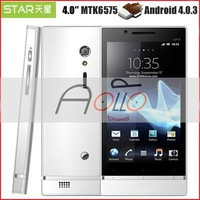 "Мобильный телефон Amoi N828 white MTK6589 Quad Core 1.2GHz 4.5""IPS 1GB+4GB Android 4.2 Phone Apolloshow"