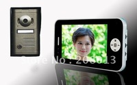 promotion 7inch wired video door phone with memory function Hotsale Free shipping