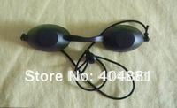 laser eyewear/laser goggle/IPL goggle/E-ligt goggles, black color, CE certified 190-2000nm