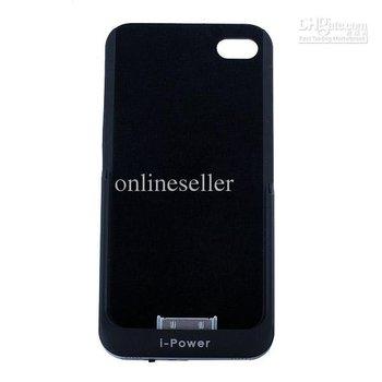 High-grade 2200mAh External Power Pack Backup Battery Back Case Battery for 4S Black