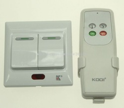 Freeshipping K-IR842A KOQI Kedsum 2 Way IR Remote Control Wall Switch/Remote Control Lighting/IR Remote Wall Switch(China (Mainland))