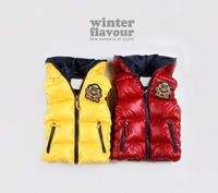 10pcs/lot Autumn baby Hooded Vest free sipping wholesale Baby Vest