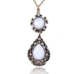 2011 new hot selling retro necklace /gem necklace/ Long Chain Necklace/fashion necklace FREE SHIPPING !(China (Mainland))