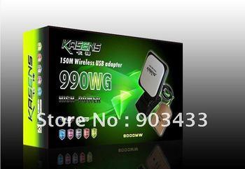 2012 kasens new Launch 60DBI panel Antenna 8187L SMA connector wireless USB adapter Adaptador wifi usb 6000MW free shipping