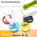 Free shipping Lovely  Car keys pen Creative cartoon car key Style ball pen funny pens promotion gift 50pcs/lot here QS11295
