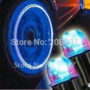 B Hot selling 4pcs/lot free shipping wholesale led flashing car light cool wheel lamp colorful tire lighting
