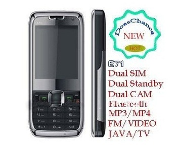 Free Shipping Polish language E71 mini cellphone mobile phone