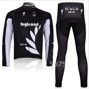 2011 Newest Best Selling High Quality Winter Fleece/Thermal Cycling Jersey+Pant Set/Cycle Wear/Bike Wear/Bik