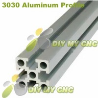 5pcs*L1000mm 3030 Aluminum Profile 30*30 Aluminum Extrusion for CNC ROUTER
