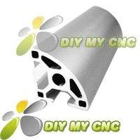 5pcs*1000mm 3030R ARC Aluminum Profile 30*30R Sector Aluminum Extrusion for CNC ROUTER