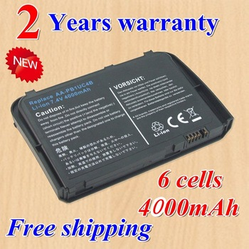 Hot +  new 6 Cell  Laptop battery for Samsung AA-PB1UC4B NP-Q1U Q1 Ultra Q1U SE  Black Free shipping