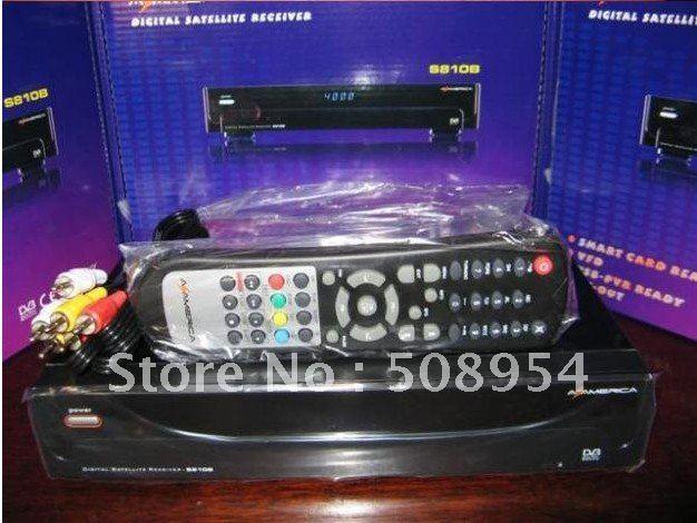 10pcs/lot South Amercia NTSC Azbox az america s810B (USB+PVR+FTA+Patch+HDMI) For Free shipping(China (Mainland))
