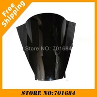 New Black Motorcycle Windshield Trim Shadow For Kawasaki ZX-12R 02-04 Windscreen Free Shipping [CK518]