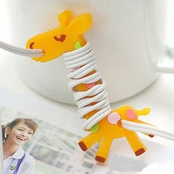 free shipping Headphone winder. Giraffe cable for earphone(China (Mainland))