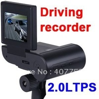 HD LCD Vehicle Car video Camera DVR Night Vision HT600 drop ship free ship register air mail with tracking number  5 piece/lot