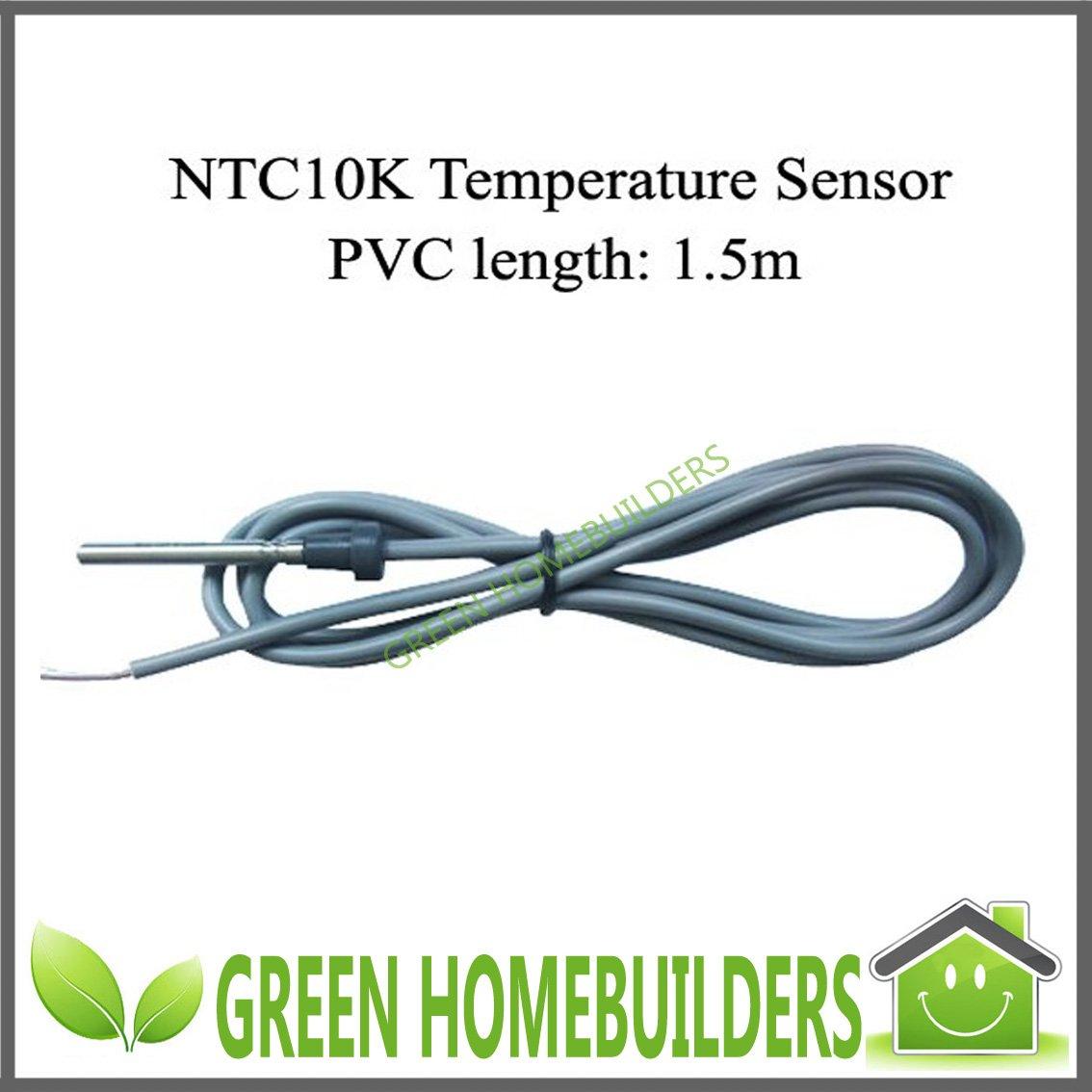 guarantee NTC10K Hot Water Tank Temperature Sensor Solar Controller  #63A51D