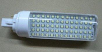 5W G24/E27 LED bulb,65pcs 3528 SMD LED,AC110V/220V input