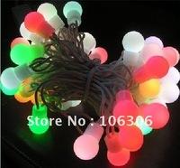 Wholse LED mini bulb string light ,5m 50leds/set 12V