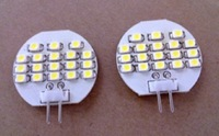 led G4 light bulb,1W;18pcs 3528 SMD LED;DC12V input