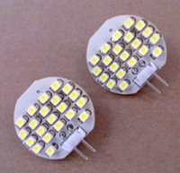 led G4 light bulb,1.2W;21pcs 3528 SMD LED;DC12V input