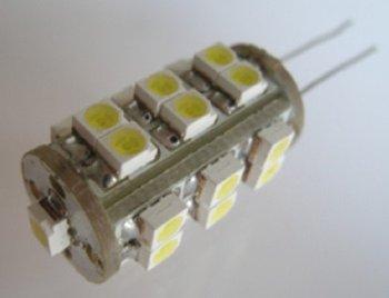 led G4 light bulb,1.2W;25pcs 3528 SMD LED;DC12V input
