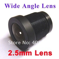 "New 2.5mm CCTV Lens 130 Degrees Wide Angle Security Camera IR Board for both 1/3"" & 1/4"" CCD"