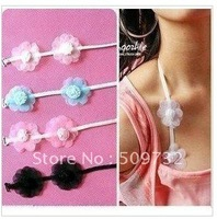 Postage free postage explosion flower lace halter strap multicolor package, factory direct sales, hot sales