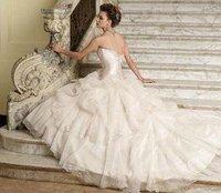 New white/ivory wedding dress custom