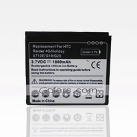 Battery for HTC Raider 4G Holiday X710e Rhyme S510b with 1800mah Battery,50pcs/Lot,High Quality,Free Shipping