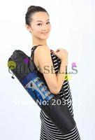 free ship nylon yoga bag yoga mat bag carrier mesh center yoga backpack new