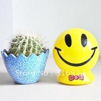 N4 Super cute smiling face piggy bank
