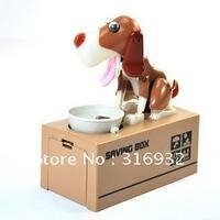 N4 Toys gifts dog eat money coin Machine ,dog money box