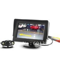 4.3 Inch Wireless Rearview Parking Monitor with Weatherproof Nightvision Camera & free shipping
