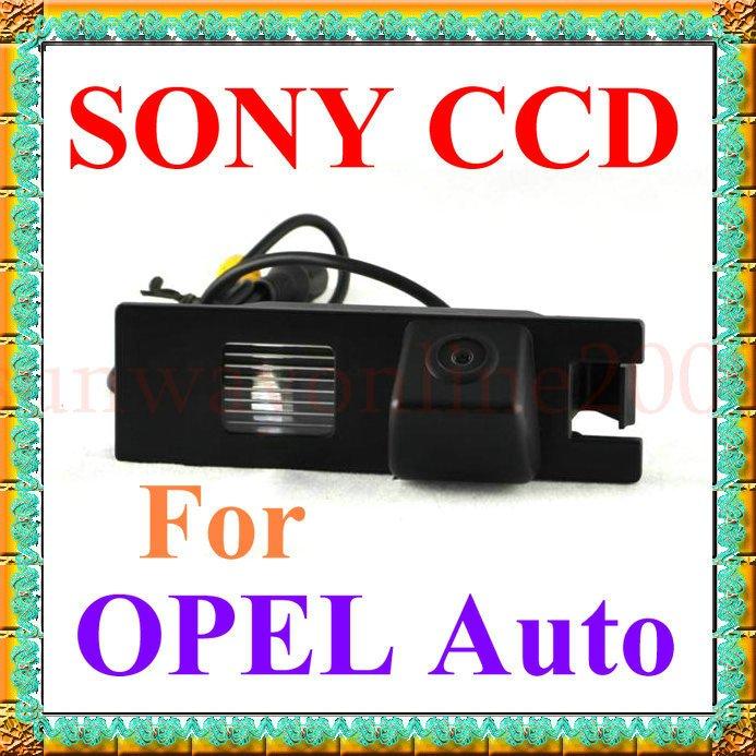 Free shipping!! CAR CCD REAR VIEW REVERSE BACKUP SONY CAMERA FOR OPEL Astra H /Corsa D/Meriva A/Vectra C/ Zafira B(China (Mainland))