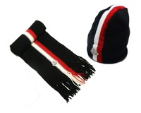 New arrival designer Fashion hat scarf set,warm Man hat scarf set,Christmas promotion boy hot scarf,2pcs/lot free shipping