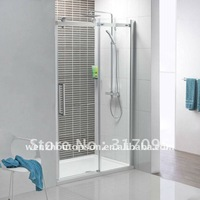Free shipping+full set kit for frameless sliding shower door